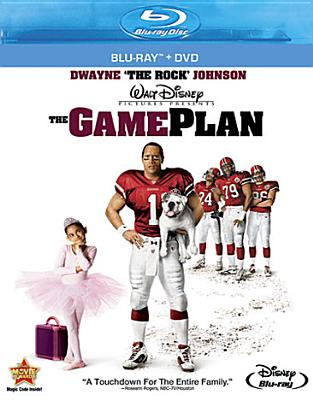 GAME PLAN BY JOHNSON,DWAYNE (Blu-Ray)