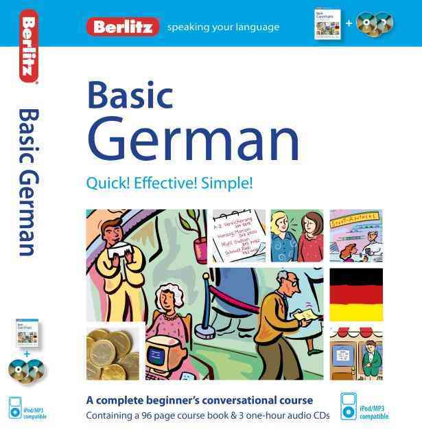 Berlitz Basic German By Berlitz International, Inc.